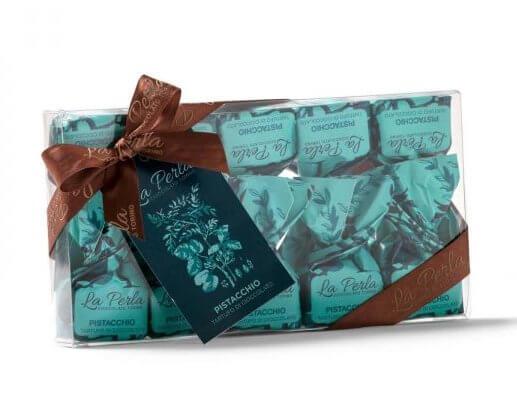 packung schokoladetrueffel-mit-pistazie