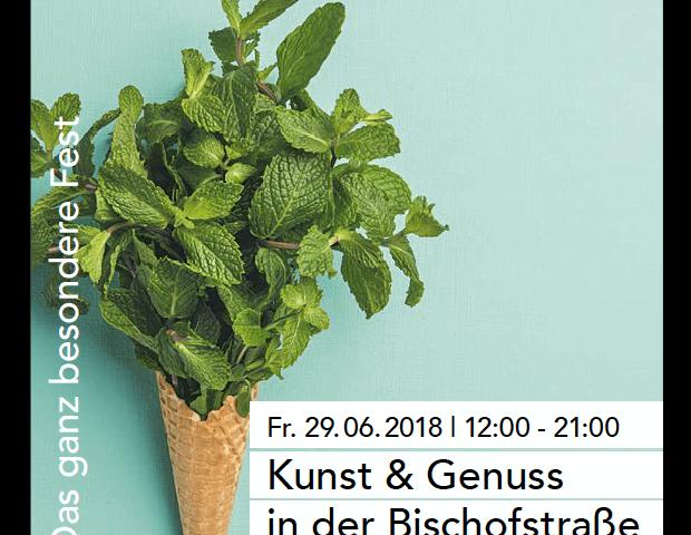 poster bischofstrassenfest 2018 nonsolovino