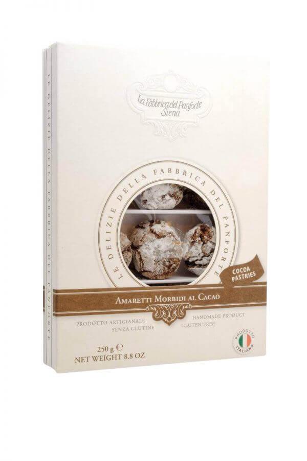 amaretti weiche mandelkekse mit kakao von fabbrica del panforte aus siena in der toskana
