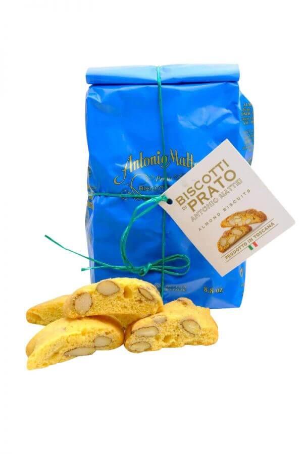 biscotti di prato cantucci von mattei aus prato in der toskana 250 gramm