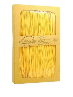 filini feine bandnudeln mit ei von pasta di aldo pastamanufaktur aus den marken