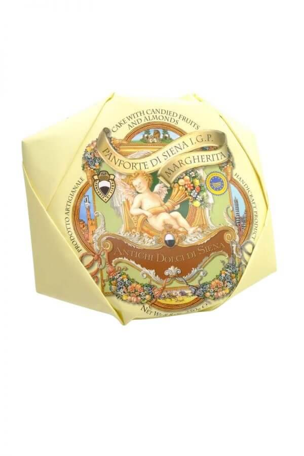 panforte di siena suesse spezialitaet aus der toskana mit honig, kandierten fruechten und gewuerzen