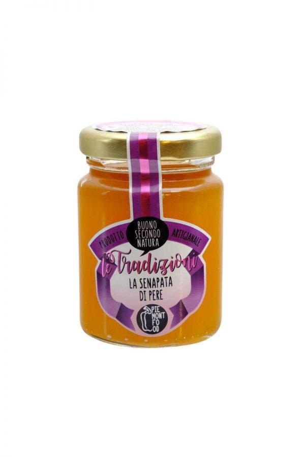 mostarda mit birne pikante marmelade chutney zu kaese von piemontfunghi