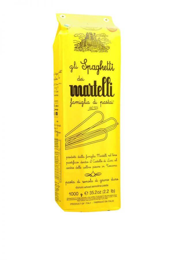 spaghetti handgemacht von familie martelli aus lari in der toskana
