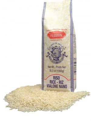risotto reis vialone nano von der riseria ferron in 1 kg verpackung