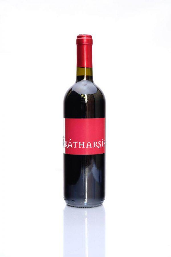 katharsis rotwein rosso piceno superiore aus biologisch kontrolliertem anbau aus ascoli piceno in den marken