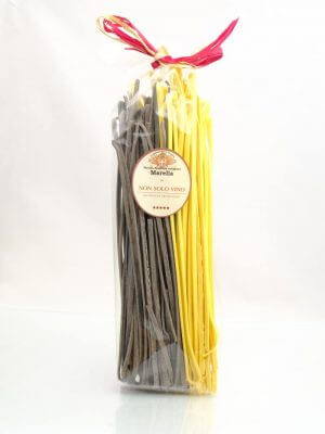 linguine mit limone und tintenfischtinte von pasta paisanella