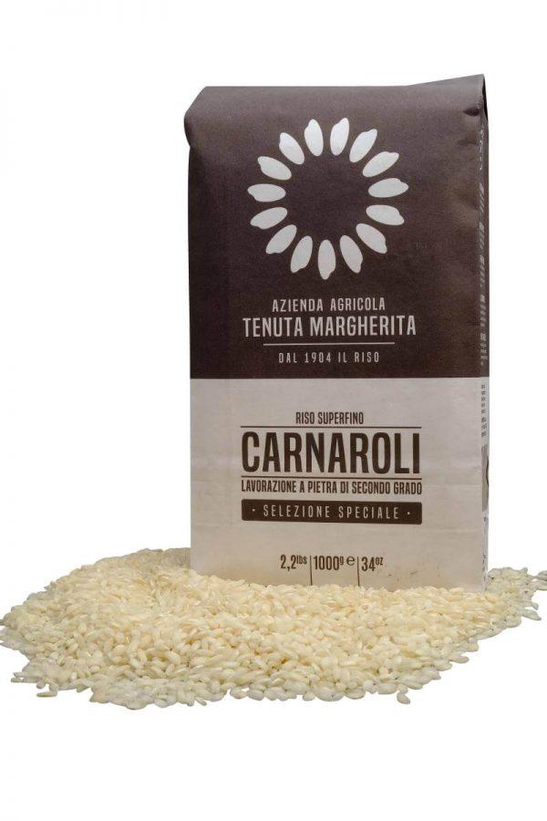 risottoreis carnaroli von tenuta margherita in 1 kg verpackung
