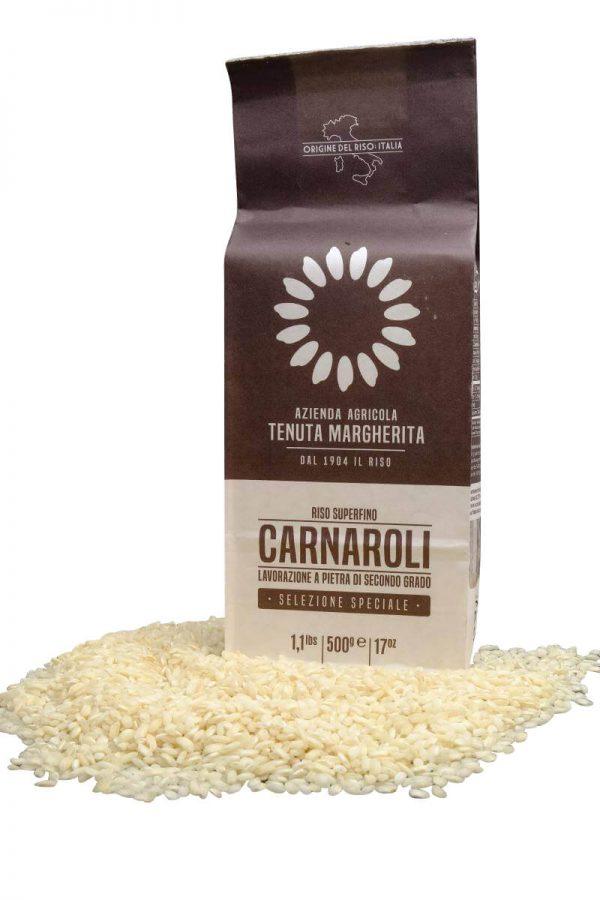 risotto reis carnaroli von tenuta margherita in 500 gramm packung