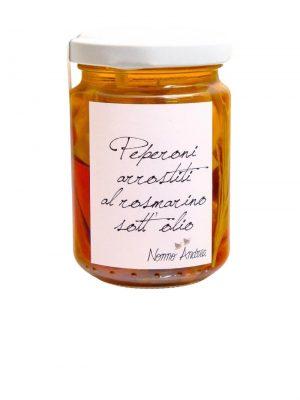 paprika gegrillt mit rosmarin in olivenoel von nonno andrea aus treviso 140 gramm