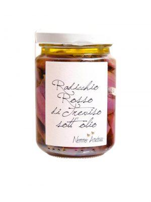 radicchio di treviso eingelegt in olivenoel von nonno andrea aus treviso