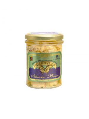 schwertfisch filet in olivenoel eingelegt von familie brezzo