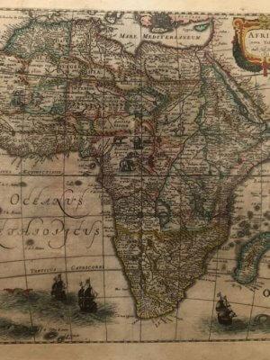 africa nova tabula hondius 1631 antike landkarte