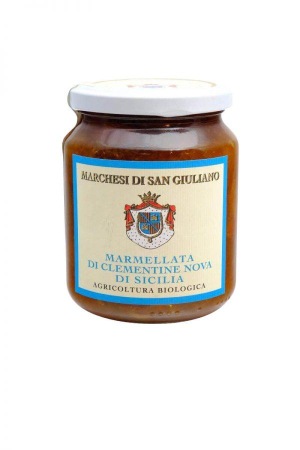 Clementinen marmelade aus sizilien von marchesi di san giuliano