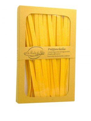 pappardelle pasta di aldo breite bandnudeln mit ei aus den marken