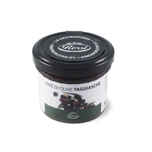 glas mit olivenaufstrich-von-taggiasca-oliven-aus-ligurien-180-gramm