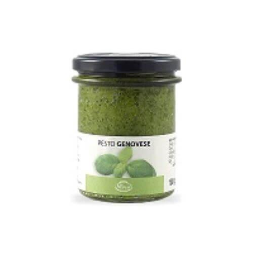 glas mit Baslikumpesto-aus-Ligurien-