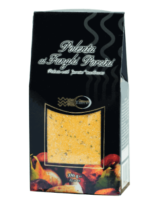 polenta mit steinpilzen