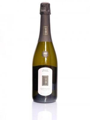 """flasche prosecco brut aus vadobbiadanen von winzerbetrieb adami """"bosco di gica"""" 750 ml"""