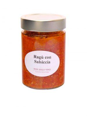 ragu con salsiccia tomatensugo mit italienischer bratwurst hausgemacht von non solo vino