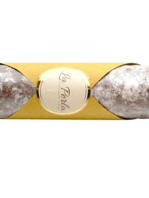 schokolade haselnuss salami von la perla di torino aus Turin