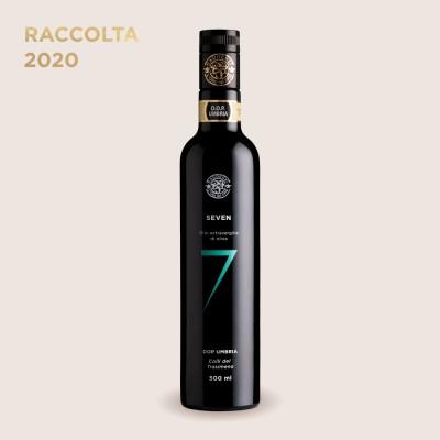 flasche mit olivenöl 7 gaudenzi aus umbrien