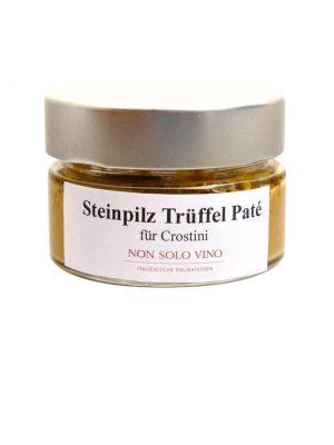 steinpilz-trüffel-pate für crostini oder nudelsaucen hausgemacht von non solo vino