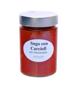 sugo con carciofi tomatensugo mit artischocken hausgemacht von non solo vino