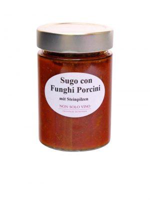 sugo con funghi porcini tomatensugo mit steinpilzen hausgemacht von non solo vino